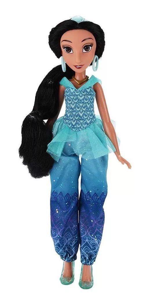 Boneca Princesa Jasmine (Royal Shimmer): Disney - Hasbro