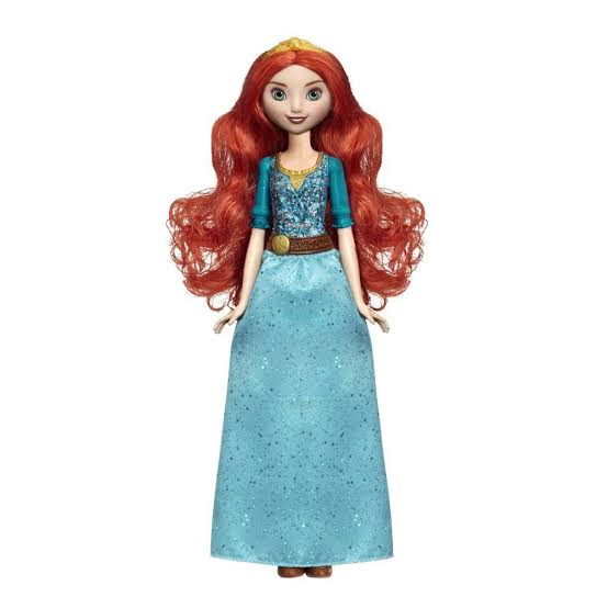 Boneca Princesa Merida (Royal Shimmer): Disney - Hasbro