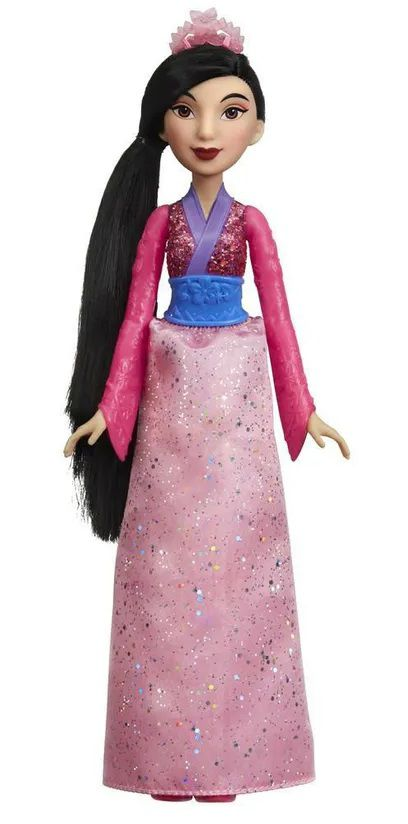 Boneca Princesa Mulan (Royal Shimmer): Disney - Hasbro