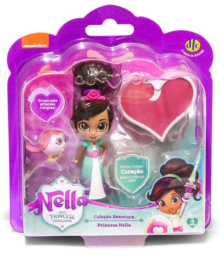 Boneca Princesa Nella: Nella Uma Princesa Corajosa (Coleção Aventura) - DTC