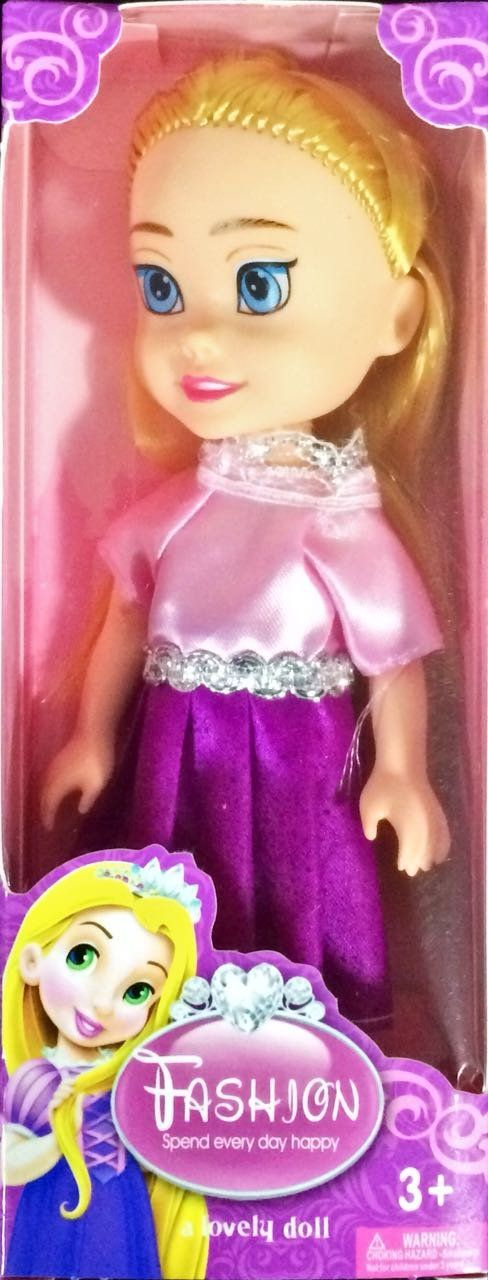 Boneca Rapunzel: Princesas Fashion