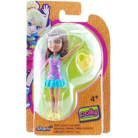 Boneca Shani (Bolsa Amarela): Polly Pocket - Mattel