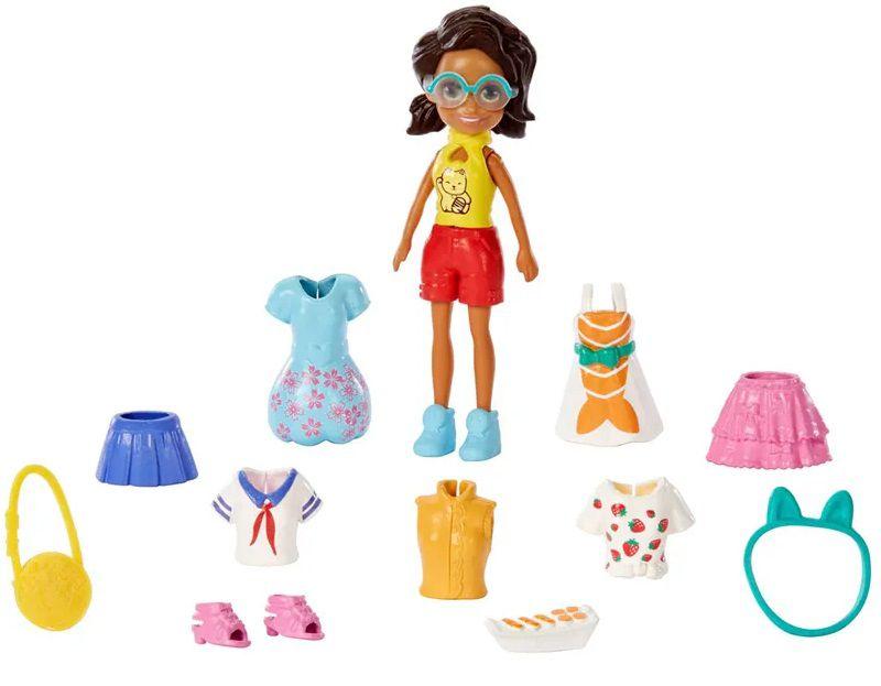 Boneca Shani Sortimento de Viagem: Polly Pocket - Mattel