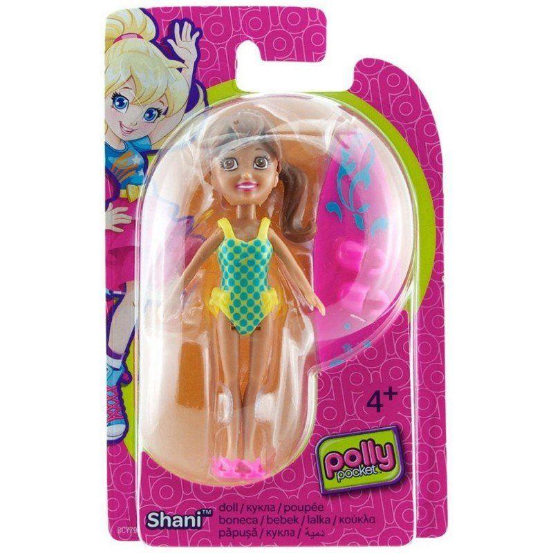 Boneca Shani (Surf): Polly Pocket - Mattel