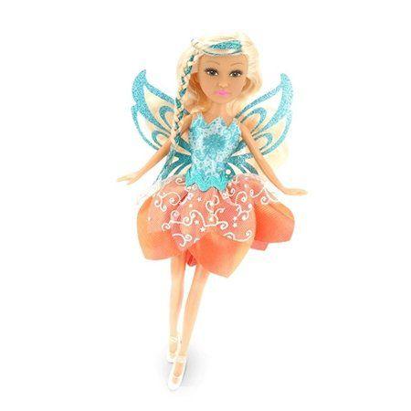Boneca Sparkle Girlz: Fada Cone (Laranja) - DTC