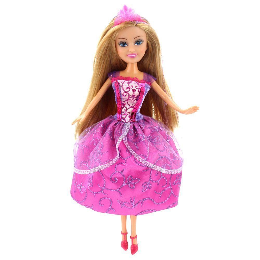 Boneca Sparkle Girlz: Princesa Super Brilhante (Isabella) - DTC