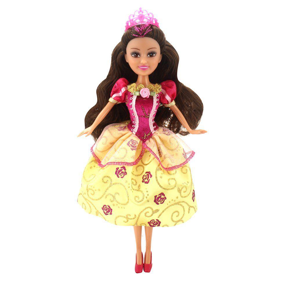 Boneca Sparkle Girlz: Princesa Super Brilhante (Júlia) - DTC