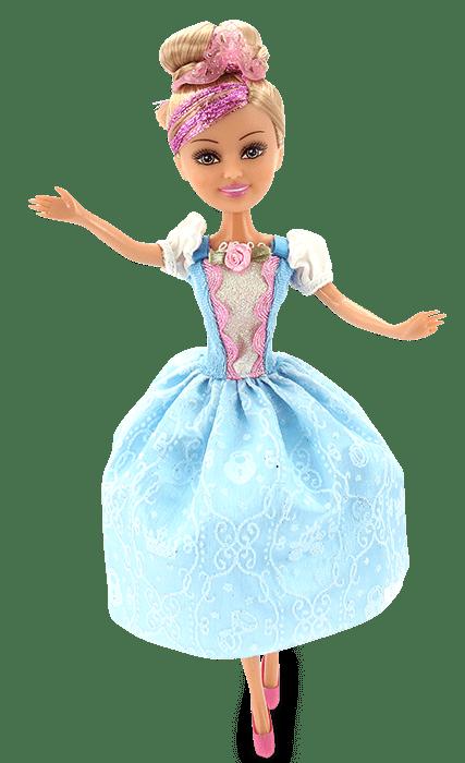 Boneca Sparkle Girlz: Princesa Super Brilhante (Sophie) - DTC