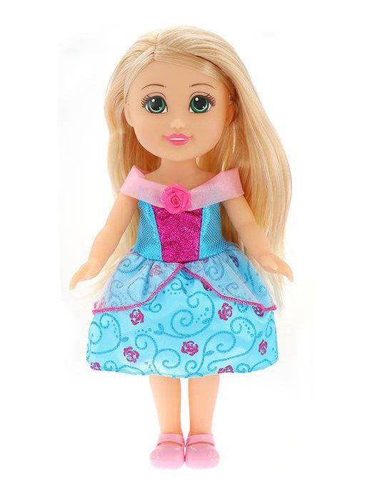 Boneca Sparkle Tots Princesa: Sparkle Girlz (Azul) - DTC