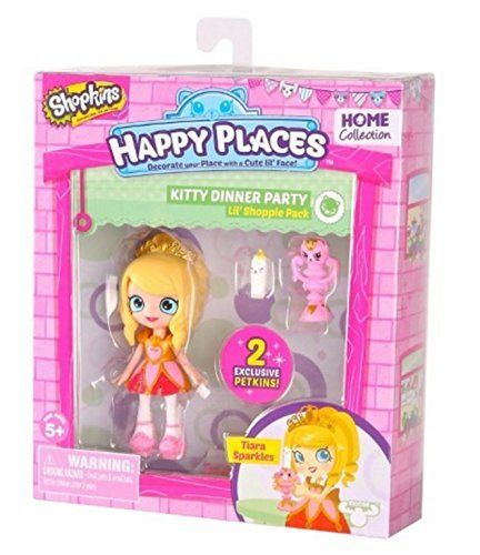 Boneca Tina Tiara: Shopkins Happy Places (Kit Mini