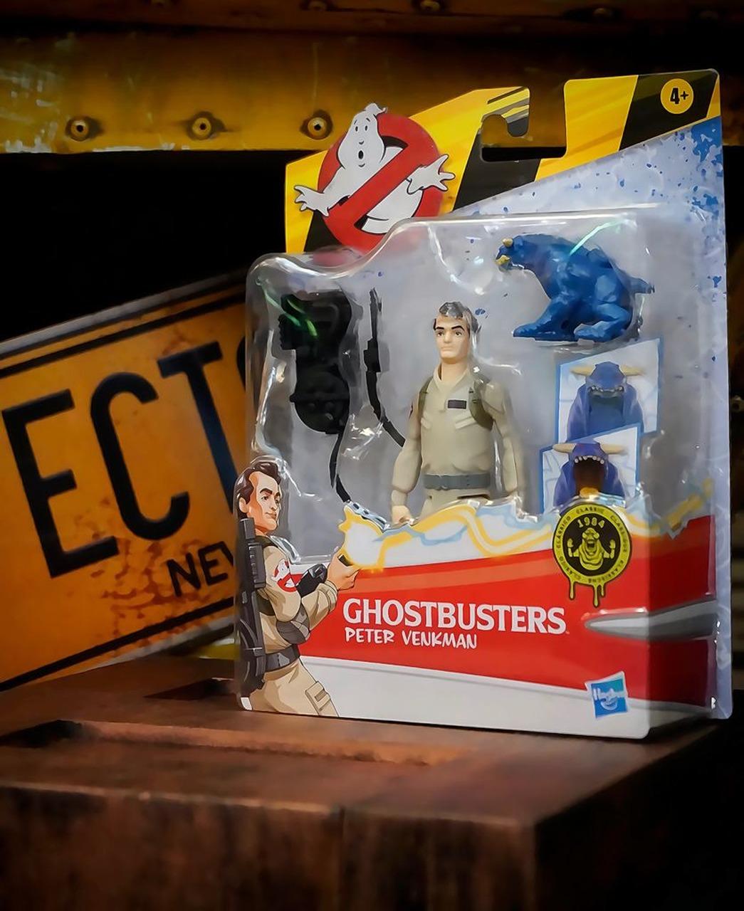 Boneco Action Figure Peter Venkman e Fantasma Zull Os Caça Fantasmas Ghostbusters E9544 - Hasbro