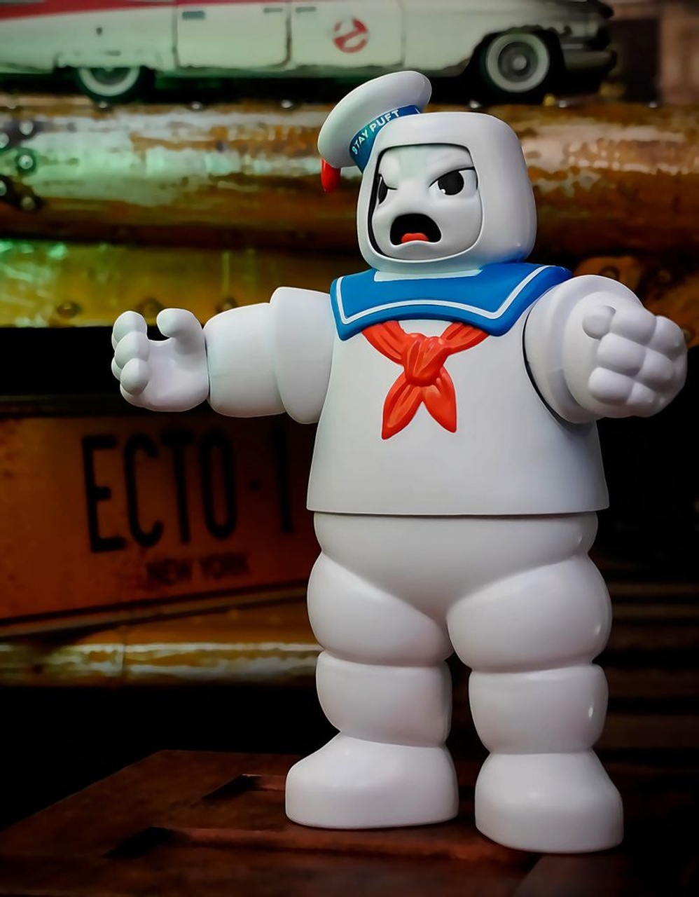 Boneco Action Figure Stay Puft Homem de Marshmallow Os Caça Fantasmas Ghostbusters E9609 - Hasbro
