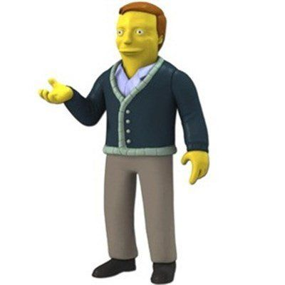 Boneco Adam West: Os Simpsons (The Simpsons 25th Anniversary) Series 5 - Neca