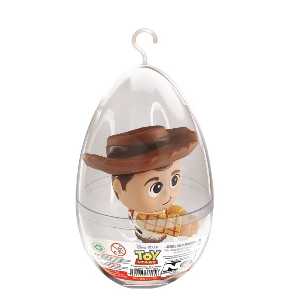 "Boneco Agarradinho ""Xerife Woody"": Toy Story - Lider"