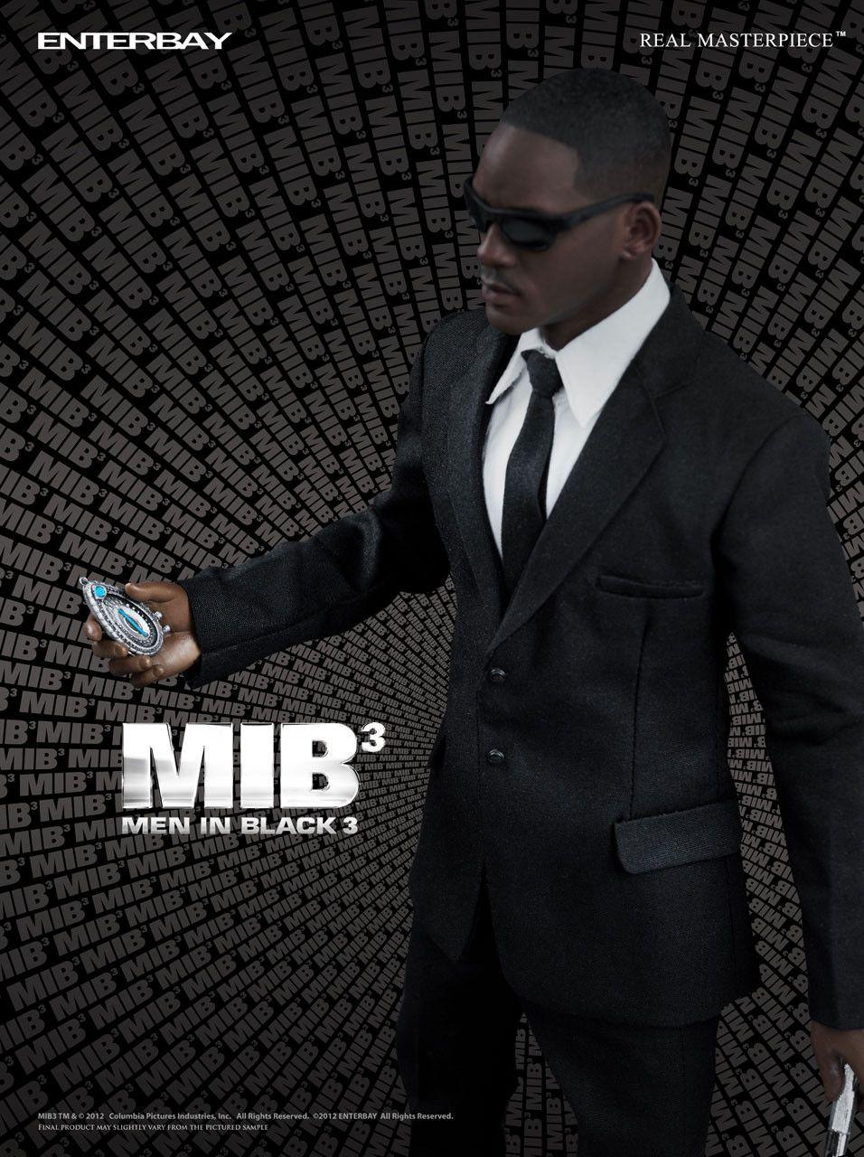 Boneco Agente J: Men In Black 3 (MIB3) (Escala 1/6) - Enterbay - CG