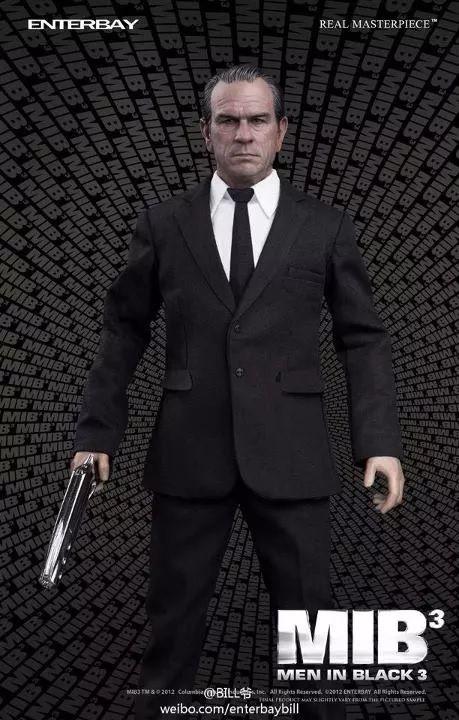 Action Figure Agente K (Key): Homens de Preto 3 (Men In Black 3) MIB3 (Escala 1/6) - Enterbay - CG