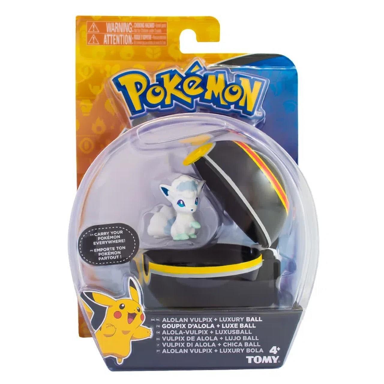 Boneco Alolan Vulpix (Goupix D'Alola) Luxury Ball: Pokémon - Sunny