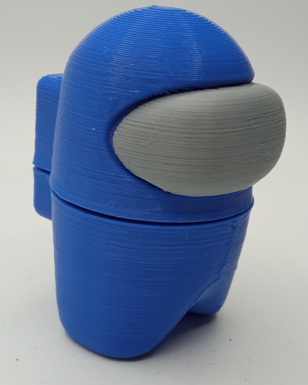 Boneco Among Us: Azul