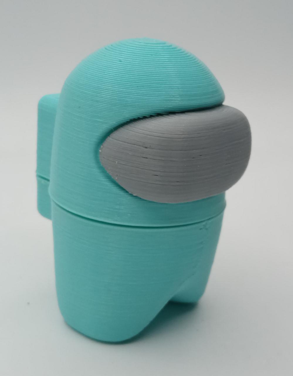 Boneco Among Us: Azul Claro