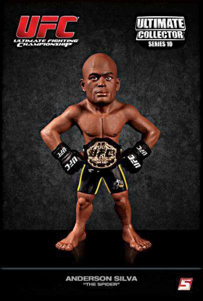 Boneco Anderson Silva (The Spider) Championship Edition: UFC Ultimate Collector
