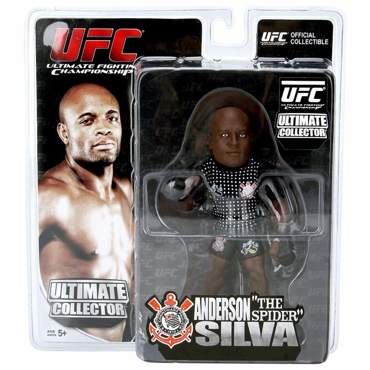 Boneco Anderson Silva (The Spider): UFC Ultimate Collector
