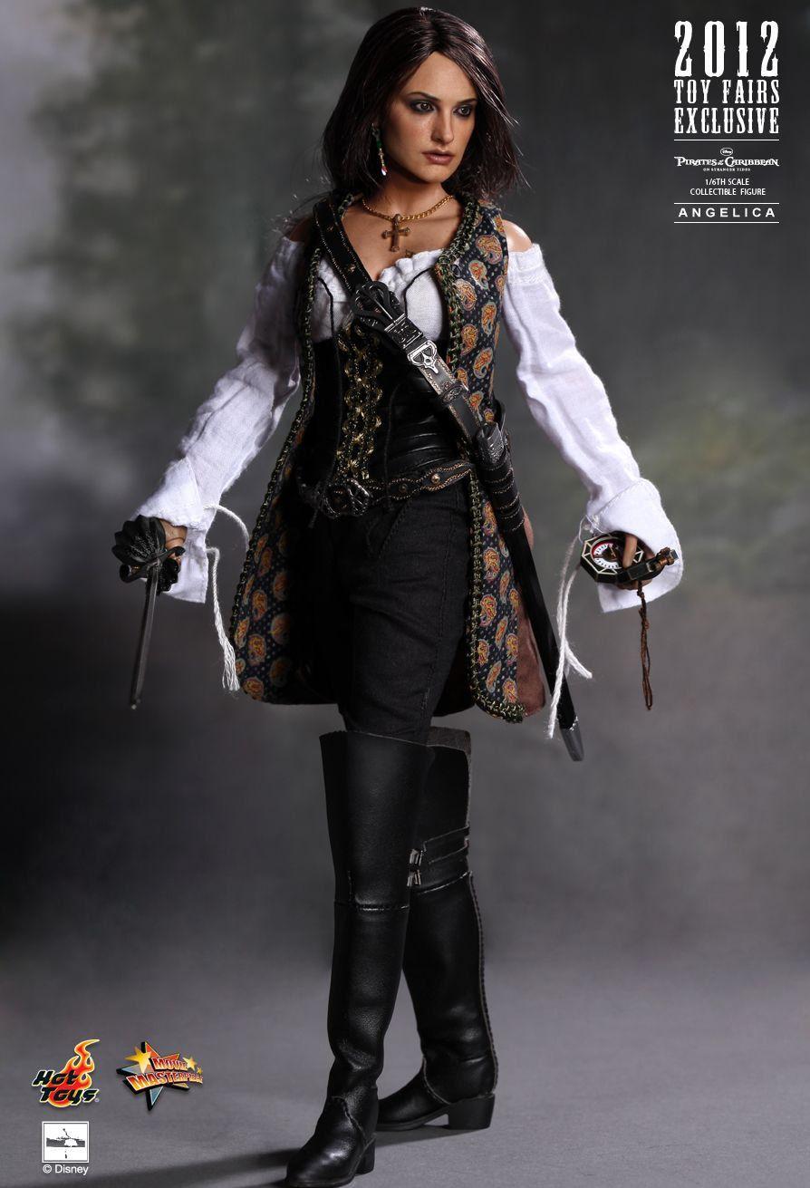 Boneco Angelica: Piratas do Caribe: Navegando em Águas Misteriosas (On Stranger Tides) Escala 1/6 (MMS181) - Hot Toys - CG