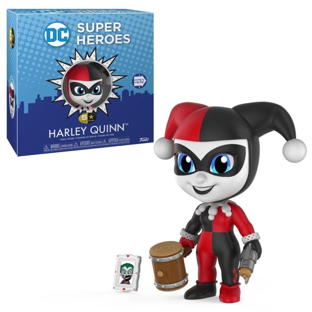 Funko Boneco Arlequina (Harley Quinn): Dc Comics Super Heroes (5 Star) - Funko