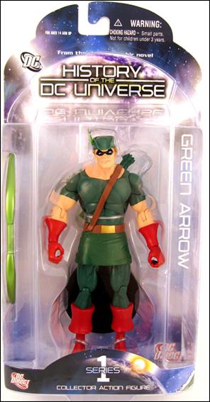 Boneco Arqueiro Verde (Green Arrow): History of the DC Universe Series 1 - DC Direct