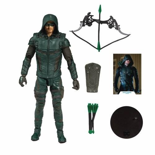 Action Figure Arqueiro Verde (Green Arrow): DC Comics (Multiverse Artic) - McFarlene Toys
