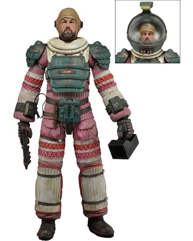 Boneco Arthur Dallas (Compression Suit): Alien Series 4 Escala 1/10 - Neca