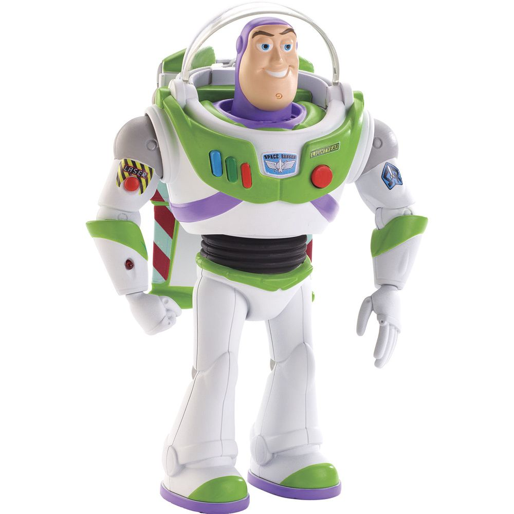 Boneco Articulado Buzz Lightyear (Movimentos Reais): Toy Story 4 - Mattel