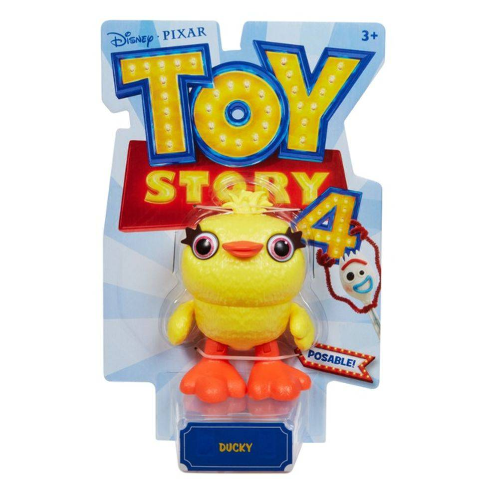 Boneco Articulado Patinho (Ducky): Toy Story 4 - Mattel