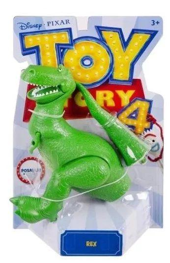 Boneco Articulado Rex: Toy Story 4 - Mattel