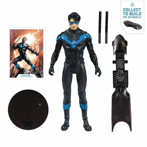 Action Figure Asa Noturna (Nightwing): DC Comics (Multiverse Artic) - McFarlene Toys