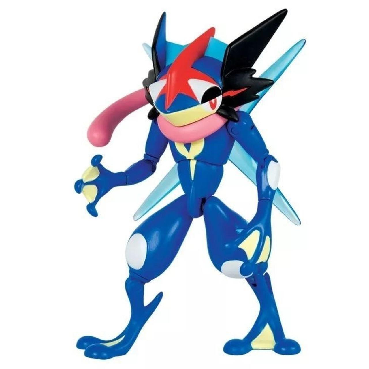 Boneco Ash-Greninja (Sachanobi): Pokémon - Sunny