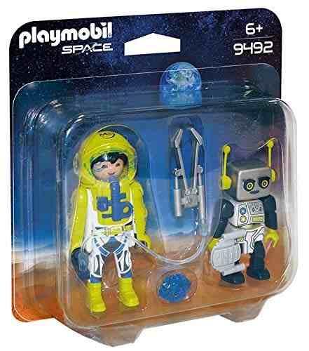 Playmobil Astronauta e Robô: Playmobil Space - Sunny