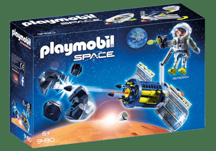 Playmobil Astronauta e Satélite com Laser e Meteoróides: Playmobil Space - Sunny