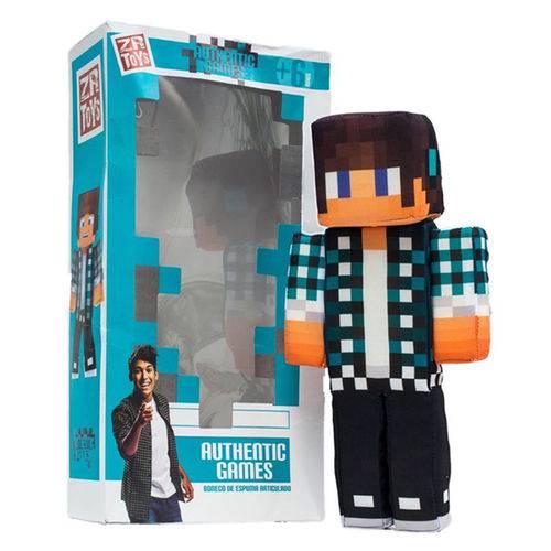 Boneco Authentic Games: Minecraft - ZR Toys