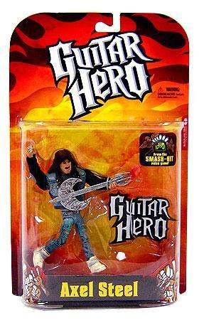 Boneco Axel Steel: Guitar Hero - McFarlane