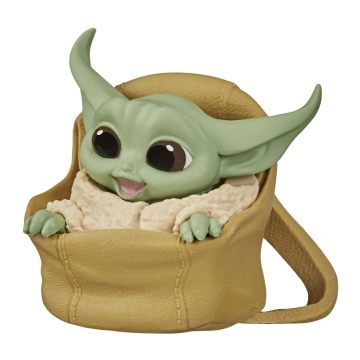 Boneco Grogu ''Baby Yoda'' Speeder Ride (The Child): The Mandalorian (Star Wars) Serie 2 - Hasbro