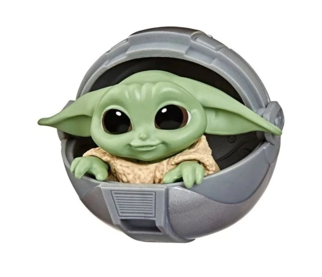 Boneco Grogu ''Baby Yoda'' Stroller (The Child): The Mandalorian (Star Wars) Serie 2 - Hasbro