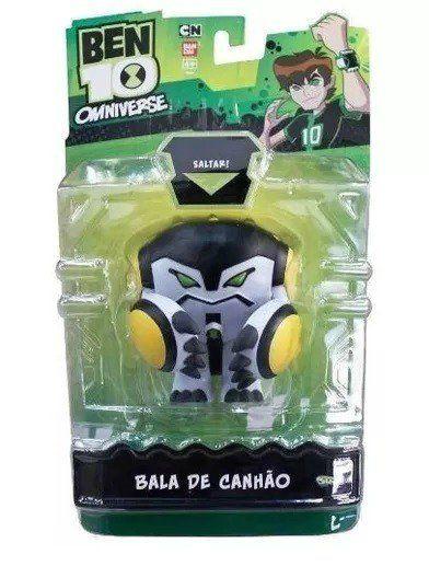 Boneco Bala De Canhão: Ben10 Omniverse - Sunny