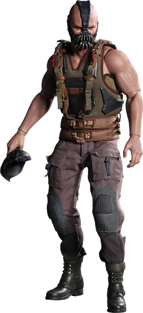 Boneco Bane: Batman O Cavaleiro das Trevas Ressurge (The Dark Knight Rises) Escala 1/6 (MMS183) - Hot Toys - CG