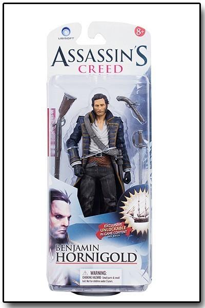 Boneco Benjamin Hornigold: Assassin's Creed - McFarlane