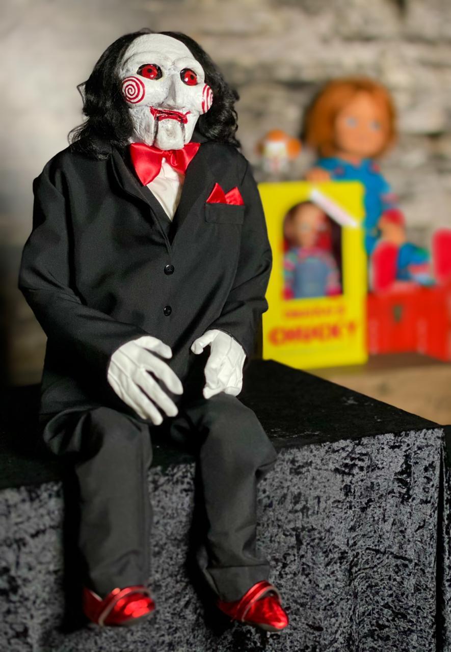 Boneco Billy Saw: Jogos Mortais