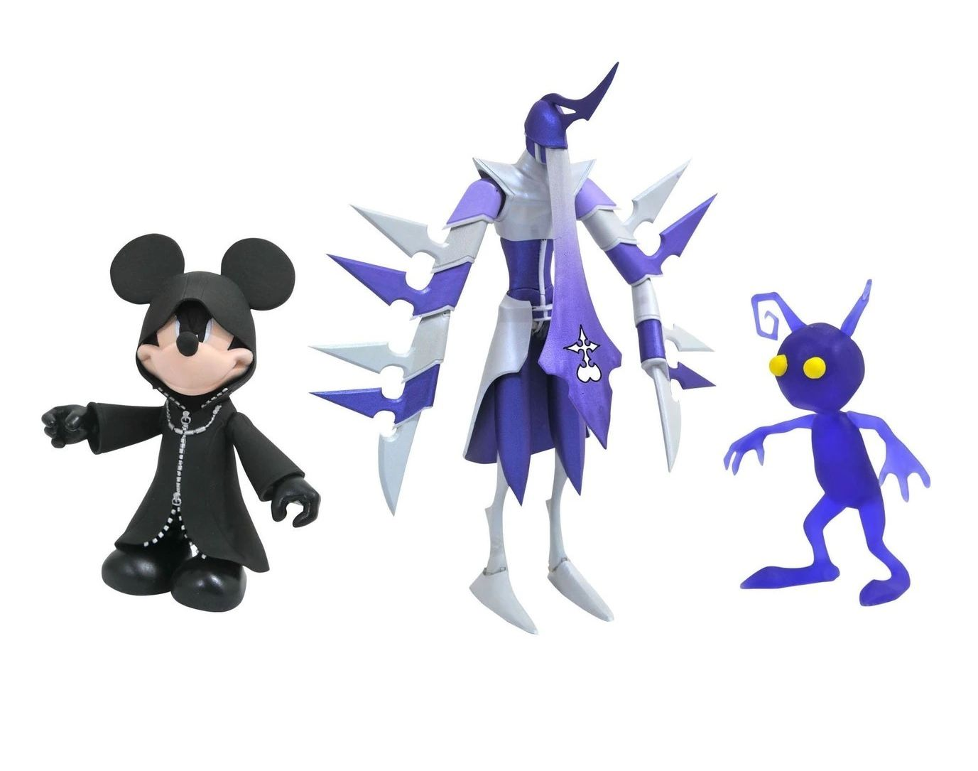 Action Figure Black Coat Mickey, Assassin & Shadow: Kingdom Hearts (Series 3) Boneco Colecionável - Diamond Select
