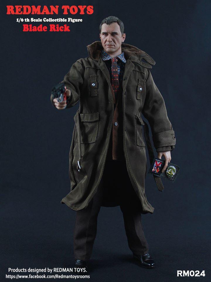PRÉ VENDA: Boneco Blade Rick / Rick Deckard: Blade Runner O Caçador de Androides Escala 1/6 - Redman Toys