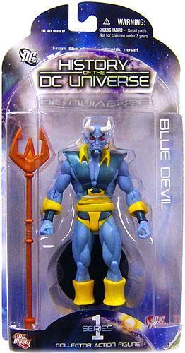 Boneco Blue Devil: History of the DC Universe Series 1 - DC Direct