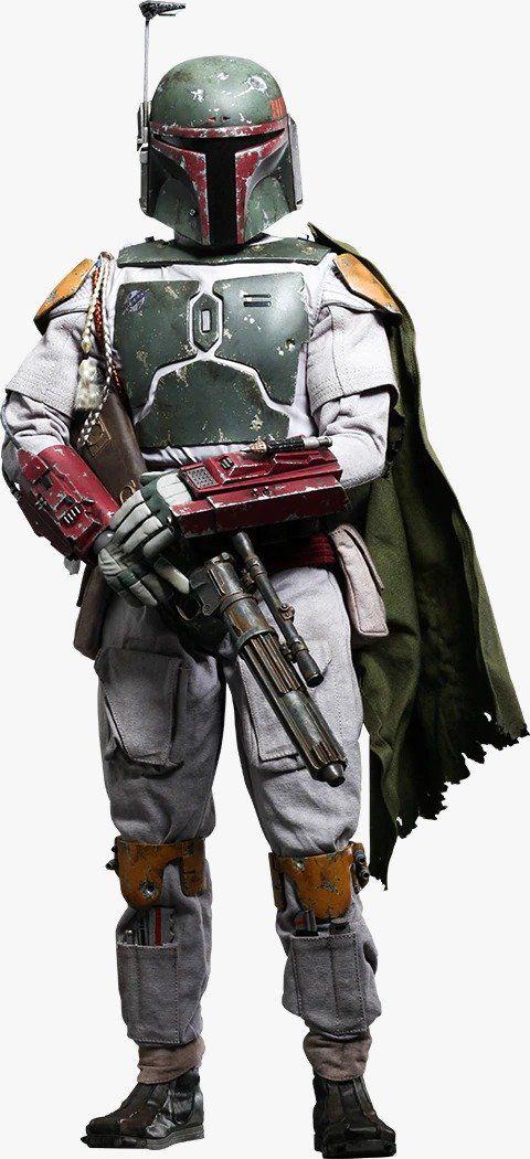 Boneco Boba Fett: Star Wars Episódio VI: O Retorno de Jedi (Episode VI: Return of the Jedi) (QS003) Escala 1/4 - Hot Toys