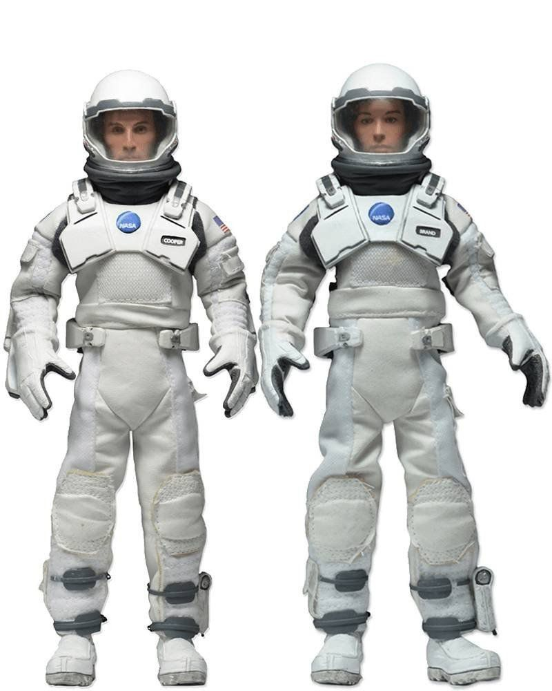 Boneco Brand e Cooper (Clothed): Interestelar Escala 1/10 (2 Pack) - Neca - CD